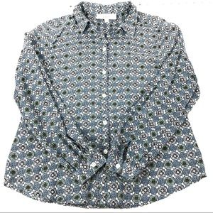 LOFT BLOUSE | LONG SLEEVES BUTTON FRONT